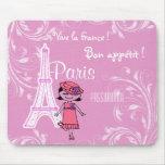 París Francia Mousepads Alfombrillas De Ratón