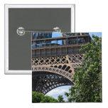 París, Francia Pin Cuadrada 5 Cm
