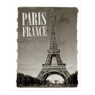 París Francia retra Tarjetas Postales