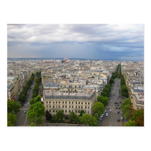 París Francia Tarjeta Postal