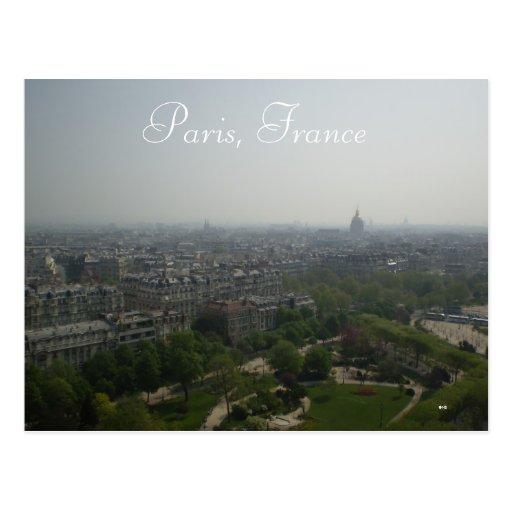 París, Francia Tarjeta Postal