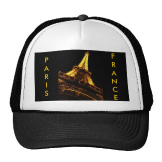 París, Francia, torre Eiffel, gorra