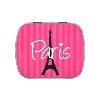 París Frascos De Caramelos