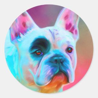 Paris French Bulldog Stickers