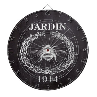 paris french country vintage bee chalkboard dartboard