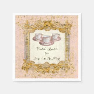 Paris French Royal Versailles Palace Tea Party Paper Napkin