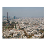 Paris from Above II Postcard