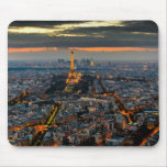 PARIS FROM ABOVE MOUSE PAD