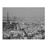 Paris from Above Postcard