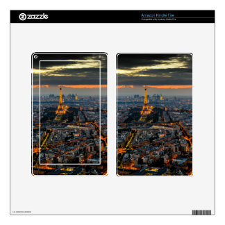 PARIS FROM ABOVE SKIN FOR KINDLE FIRE