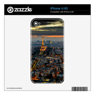 PARIS FROM ABOVE SKIN FOR THE iPhone 4