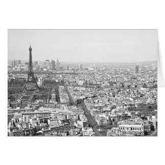 Paris from Above VI Card