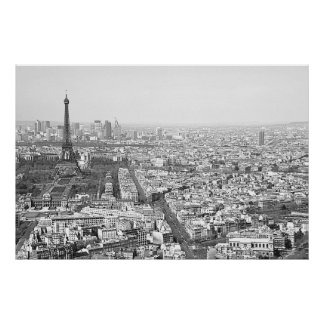 Paris from Above VI Poster