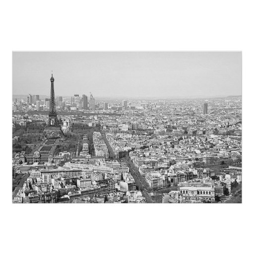 Paris from Above VI Print