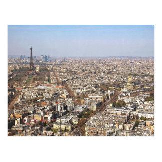 Paris from Above VII Postcard