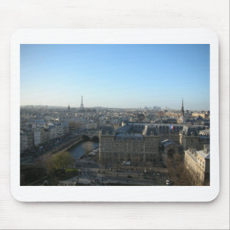 Paris from Notre-Dame Mouse Pad