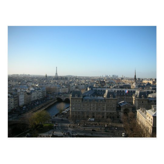 Paris from Notre-Dame Postcard