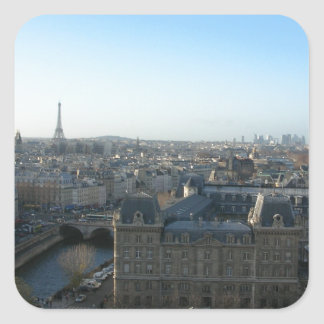 Paris from Notre-Dame Square Sticker
