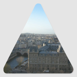 Paris from Notre-Dame Triangle Sticker