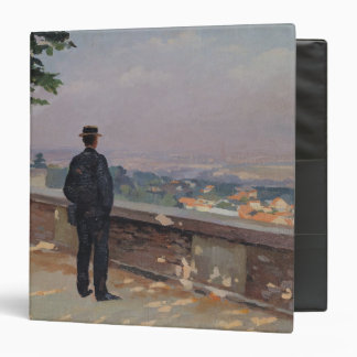 Paris from the observatory at Meudon 3 Ring Binder