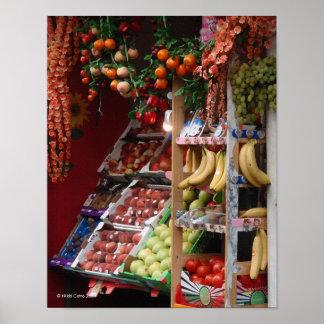 Paris Fruit Market Print