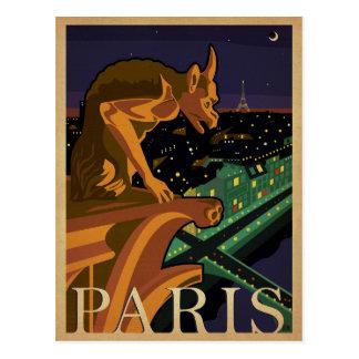 París - Gargoile Tarjeta Postal