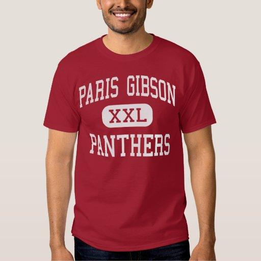 París Gibson - panteras - centro - Great Falls Remeras