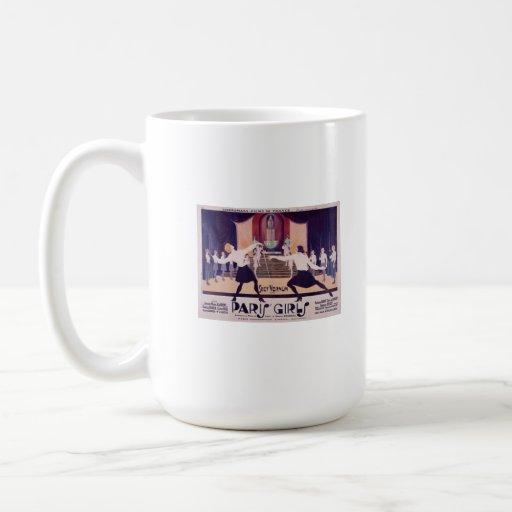 Paris Girls Fencing Coffee Mug