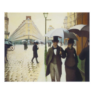 Paris, Gustave Caillebott Poster
