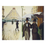 Paris, Gustave Caillebott Posters