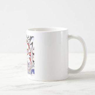 Paris Hakuna Matata Paris Blue Red White.png Coffee Mug