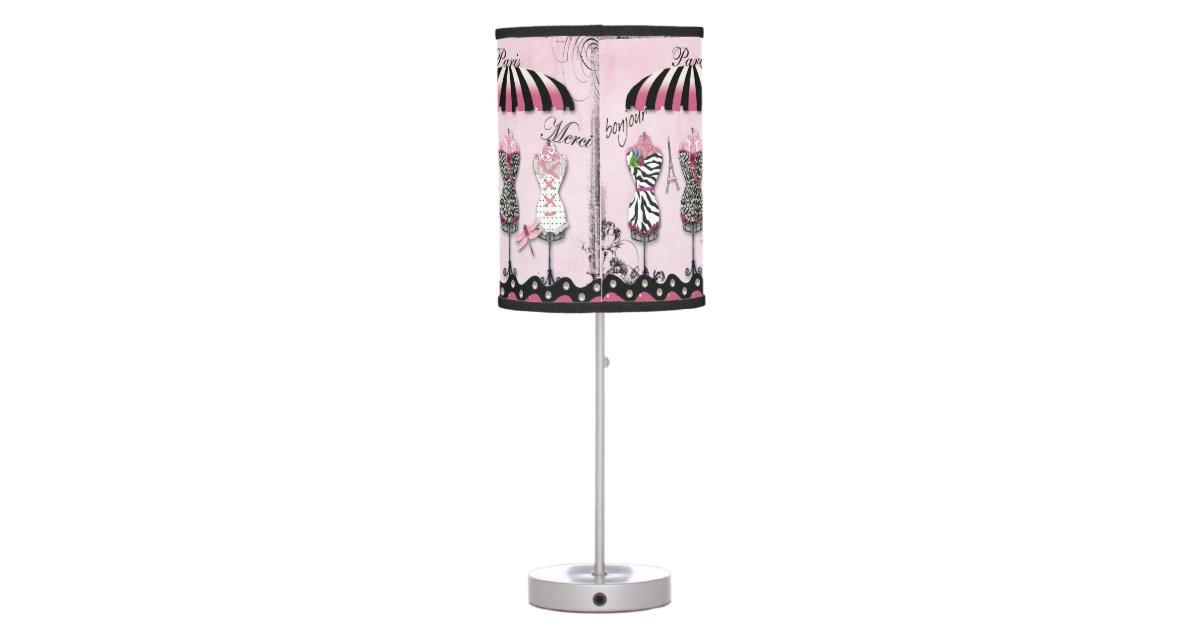 Paris Haute Couture Eiffel Tower Dragonfly Desk Lamp – Dragonfly Desk Lamp