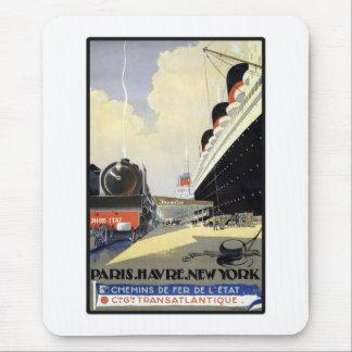 París Havre Nueva York Alfombrilla De Ratones