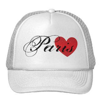 Paris Heart Trucker Hat