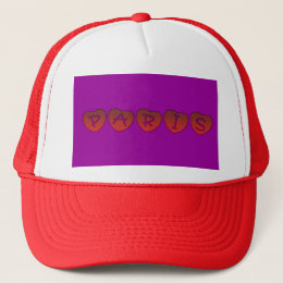 Paris Hearts Trucker Hat