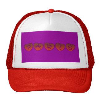 Paris Hearts Trucker Hat Hat