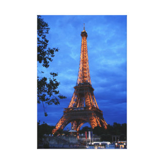 Paris Highlights Canvas Print