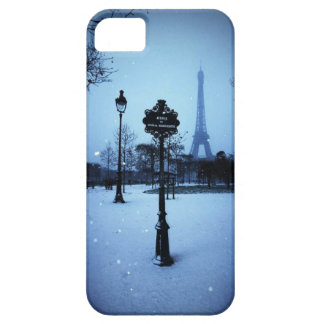 París hivernal iPhone 5 fundas