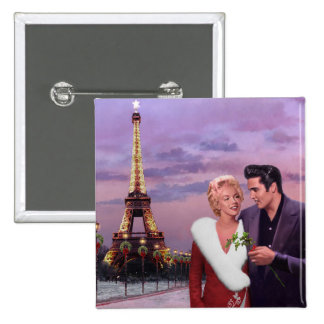 Paris Holiday Button
