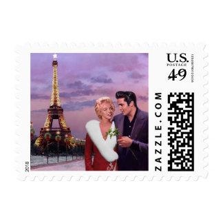 Paris Holiday Postage
