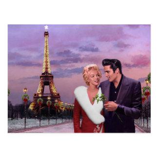 Paris Holiday Postcard
