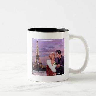 Paris Holiday Two-Tone Coffee Mug