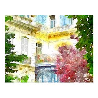 Paris Home Postcard