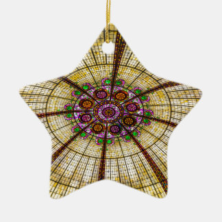 Paris Hotel Ceiling in Las Vegas Ceramic Ornament