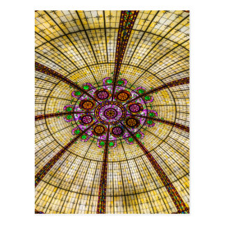 Paris Hotel Ceiling in Las Vegas Postcard