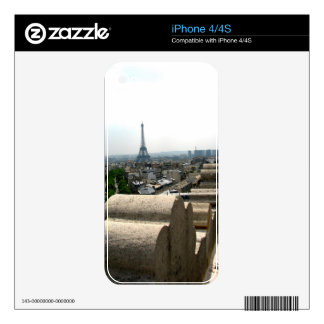 Paris I Decals For The iPhone 4S