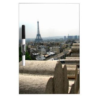 Paris I Dry Erase White Board