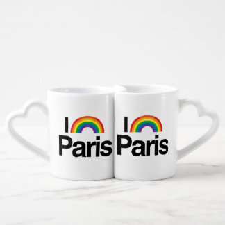 PARIS - I LOVE PRIDE.png Couples' Coffee Mug Set