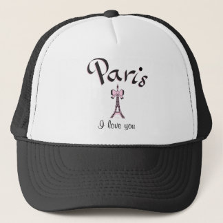 Paris I love you! Trucker Hat