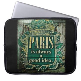 Paris Idea Laptop Computer Sleeves
